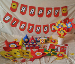 """Набор для Дня Рождения """"Лего"""""""