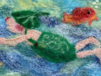 Gisbert schwimmt