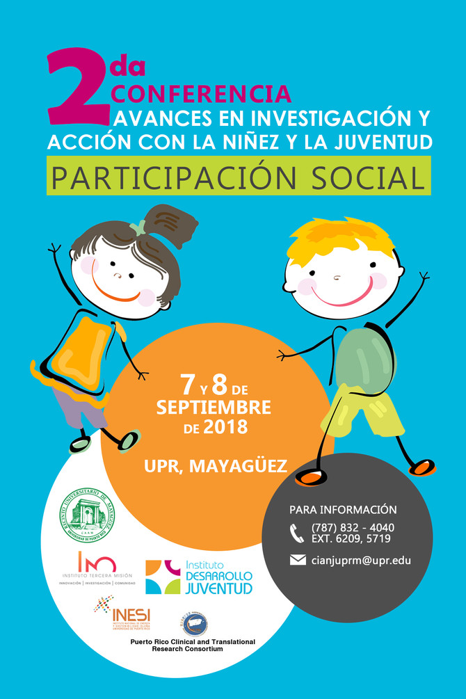 Conferencia: Avances en Investigación y Acción con la Niñez y la Juventuden la Universidad de Puert