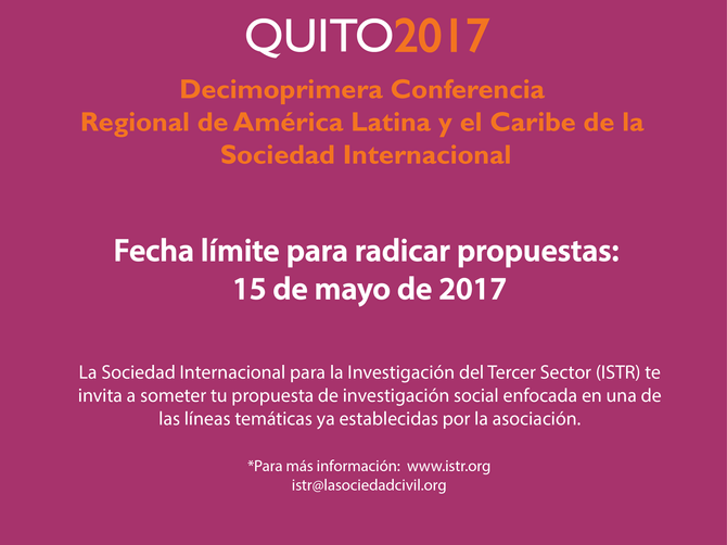 The 11th Annual Latin America and Caribbean Regional Conference of the International Society for Thi