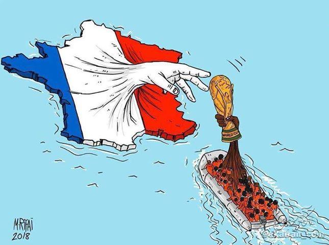 Croacia vs. Francia: una final de inmigrantes y refugiados