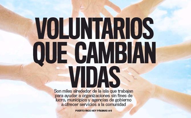 VOLUNTARIOS QUE CAMBIAN VIDAS