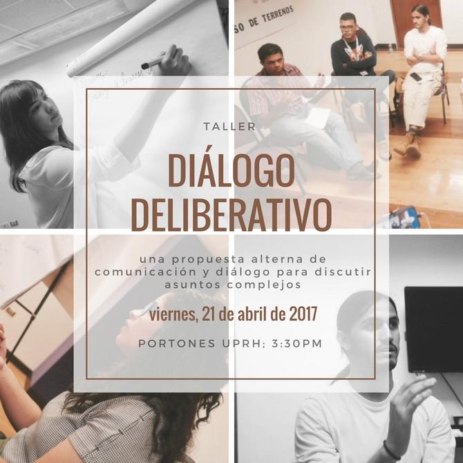 Taller de Diálogo Deliberativo