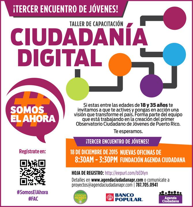 Taller de Competencias Ciudadanas: Ciudadanía Digital