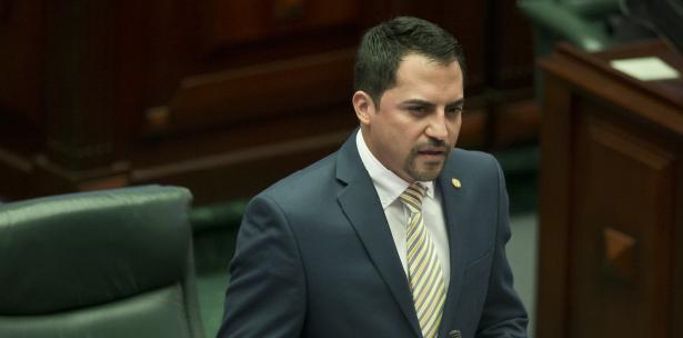 El presidente de la comisión cameral de Asuntos Laborales, Ángel Peña Ramírez, pondrá especial atención a las enmiendas que tuvo el proyecto. (jorge.ramirez@gfrmedia.com)
