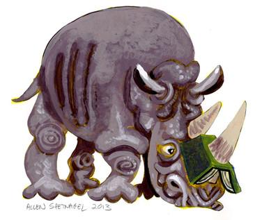 Allen-Spetnagel_readingrhinocerous.jpg