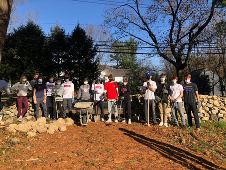 SLOBs Work Hard for New Canaan Land Trust