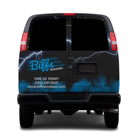 Vehicle Wrap Concept Back