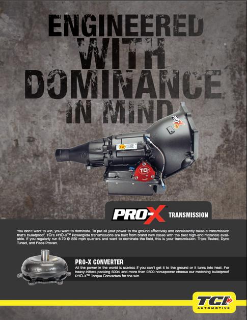Print Ad Concept - TCI Automotive