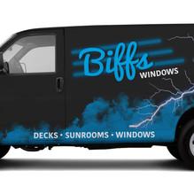 Vehicle Wrap Concept - Biffs Garage
