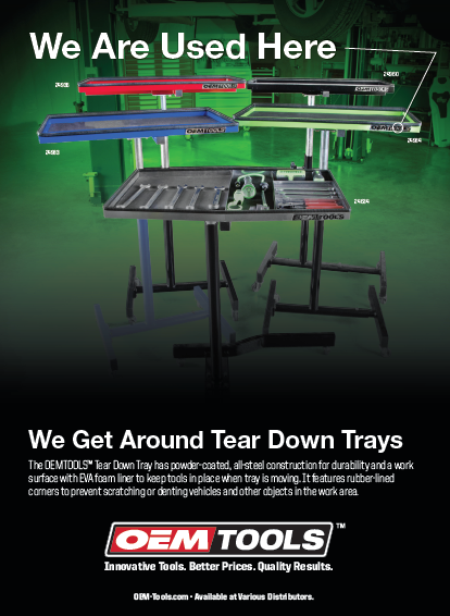 Tear Down Tray Ad