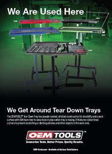 Tear Down Tray Ad