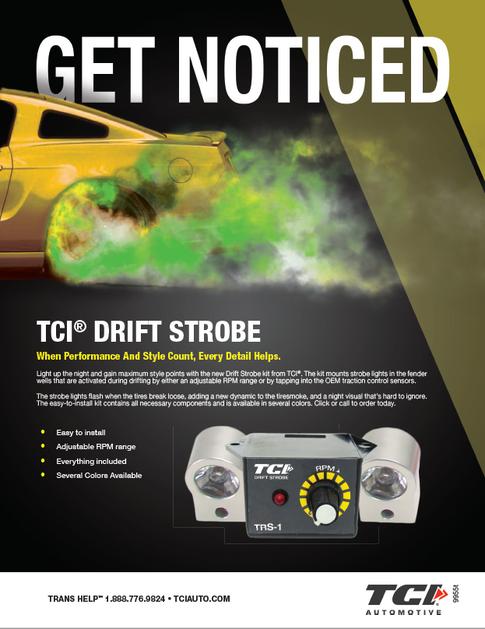 Drift Strobe Ad Concept