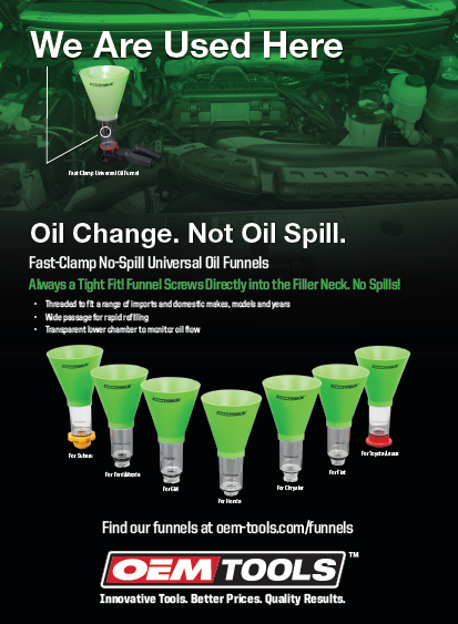 Oil Change Print Ad
