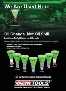 Oil Change Print Ad
