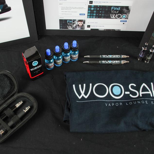 College Project - Woosah Vapor Branding