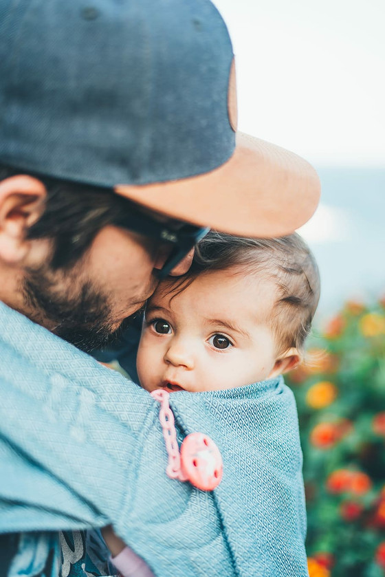 Carrying a Baby - tips and tricks from a physiotherapist