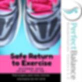 safe return to execise physiotherapy rehabilitation