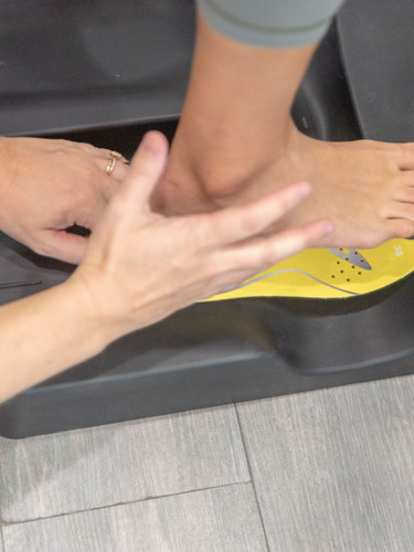 Footbalance Insoles - physical therapy treatment