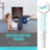 diastasis & core training pelvic floor rehabilitation women's health