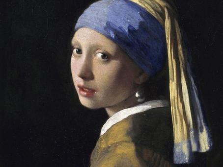 梅維爾其實幫《戴珍珠耳環的少女》畫了睫毛