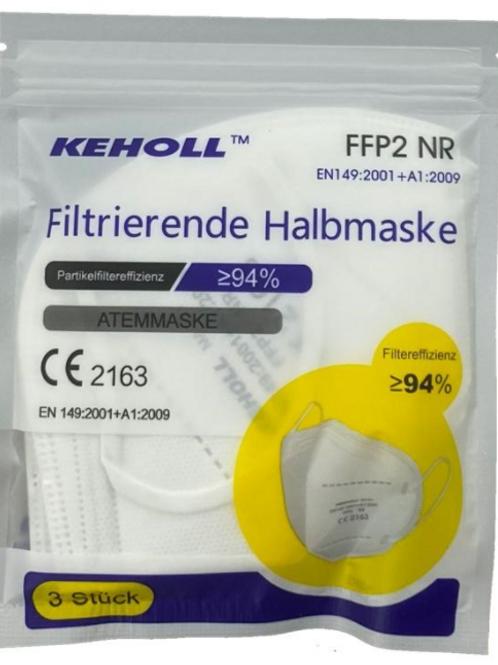 KEHOLL FFP2 Atemschutzmaske 50 (Stück)