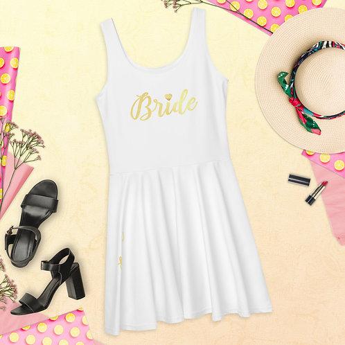 Bride Heart Skater Dress