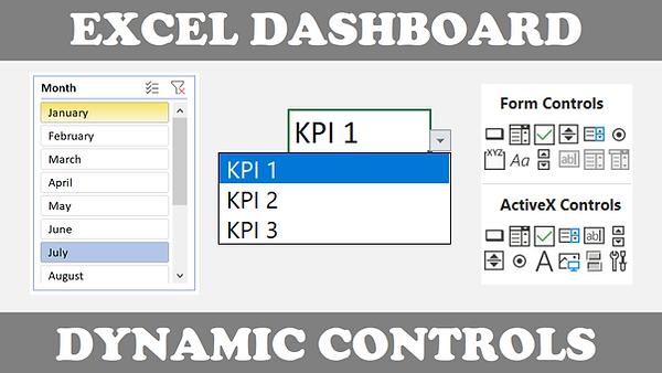 Excel Dynamic Dashboard Controls Thumbna