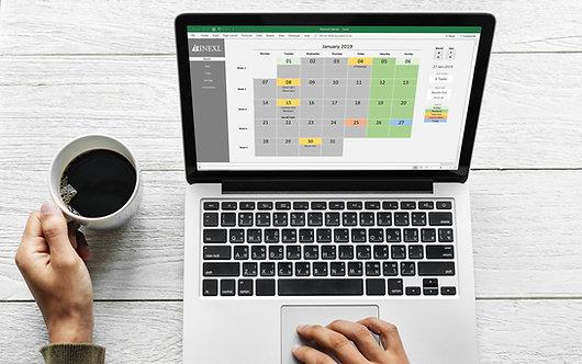 Perpetual Calendar & Task Manager