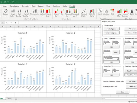 Pine BI Update Version 1.1 – Introducing the Chart Editor