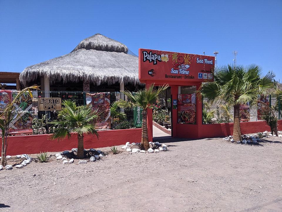 Loreto Restaurant Palapa San Telmo