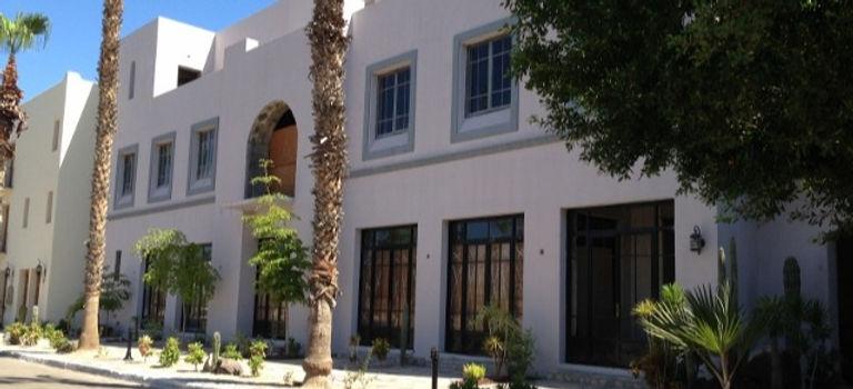 hacienda building, loreto bay