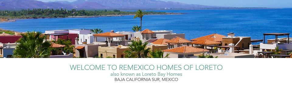 Remexico, Loreto Bay Real Estate Companies, Realtors in Loreto Bay