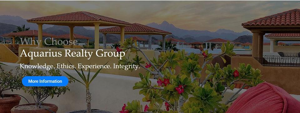 Aquarius, Loreto Bay Real Estate Companies, Realtors in Loreto Bay