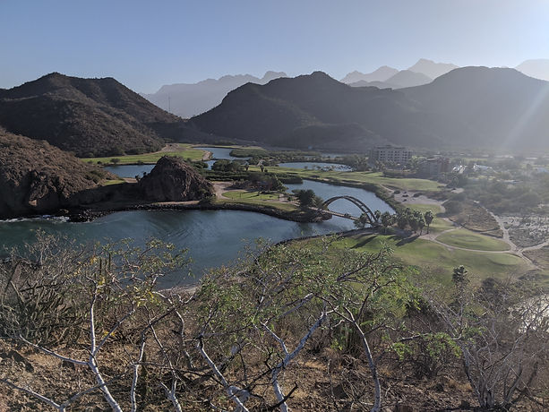 Hiking Nopolo Rock, Loreto Mexico