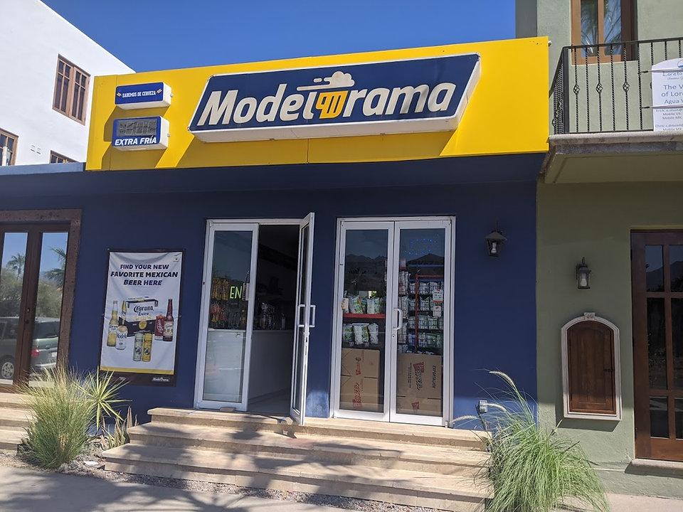 Modelorama Loreto Bay nopolo mini market