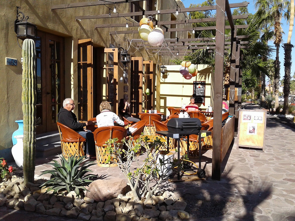 Le Bistro, places to eat in nopolo / loreto bay, food, restaurants