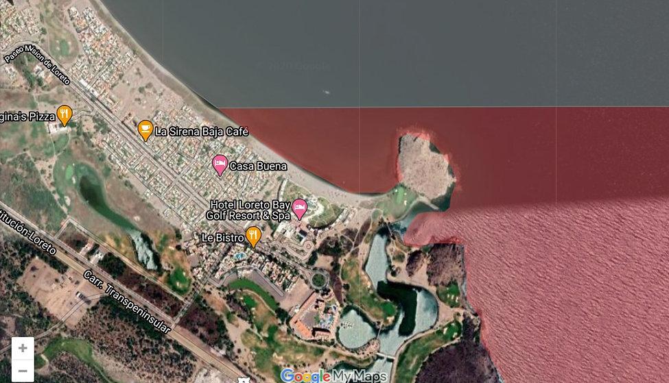 No fish zones loreto bay, protected areas loreto, no fishing areas