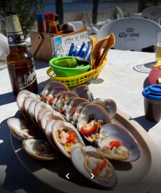 the clam shack, vista al mar, food, loreto, restaurant