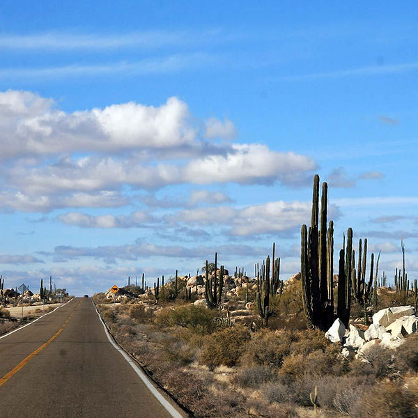 Highway 5 to Loreto, Mexico