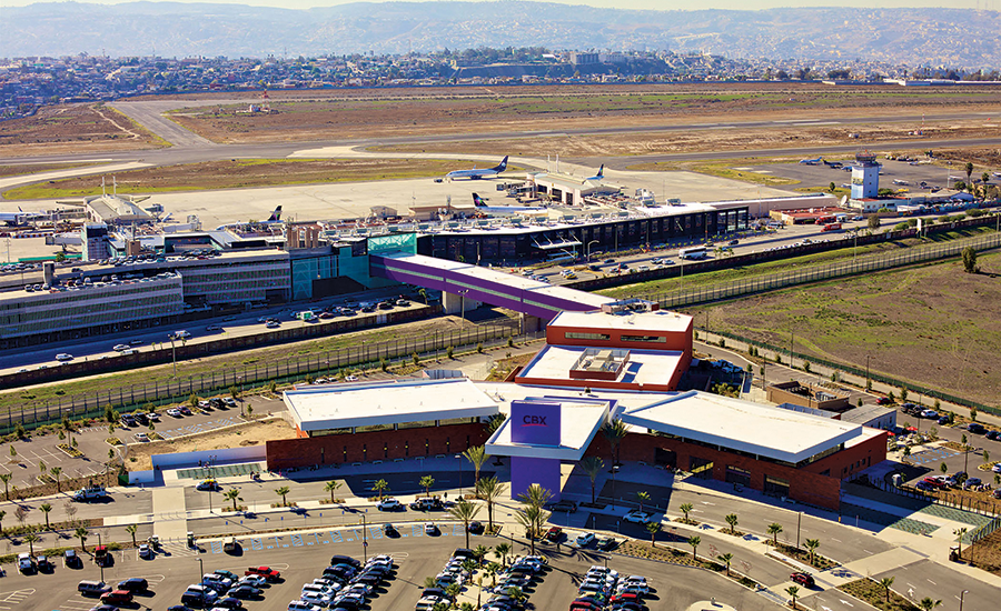 Using the Cross Border Xpress, Tijuana, San Diego