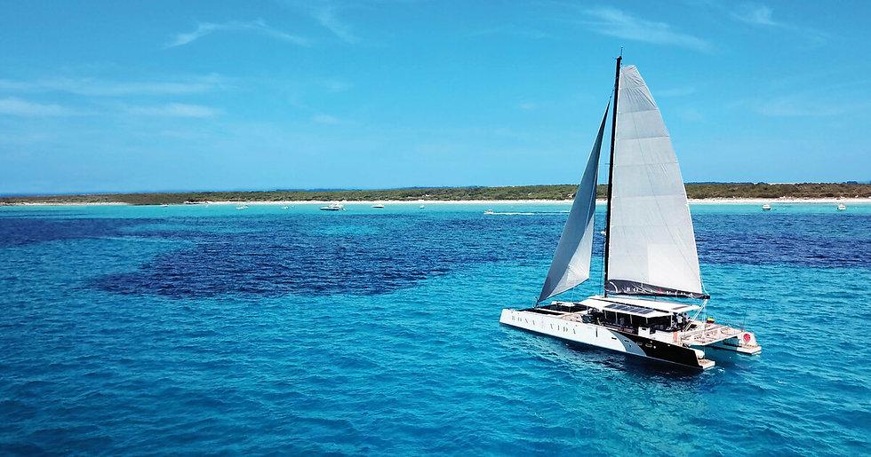 Catamaran Loreto tour
