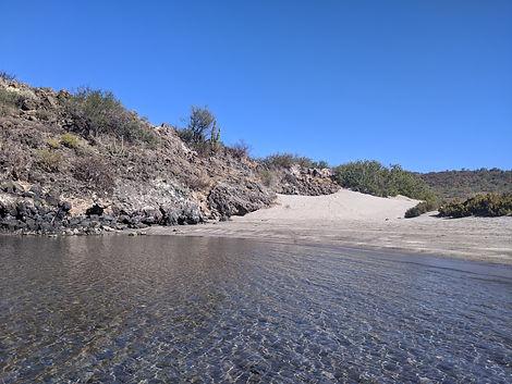 juncalito beach, playa juncalito, loreto