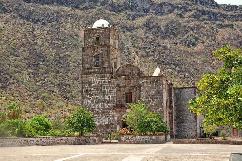 San Javier Mission, Loreto, Tours, info