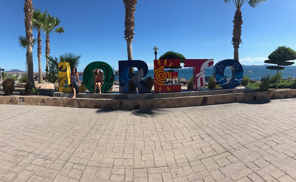 Places to Eat in the City of Loreto, Mexico