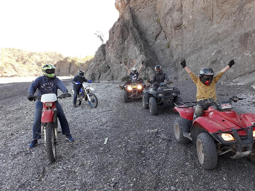 LORETO, ATV TOURS, QUADS, MOTORCYCLES, OFF ROAD VEHICLES