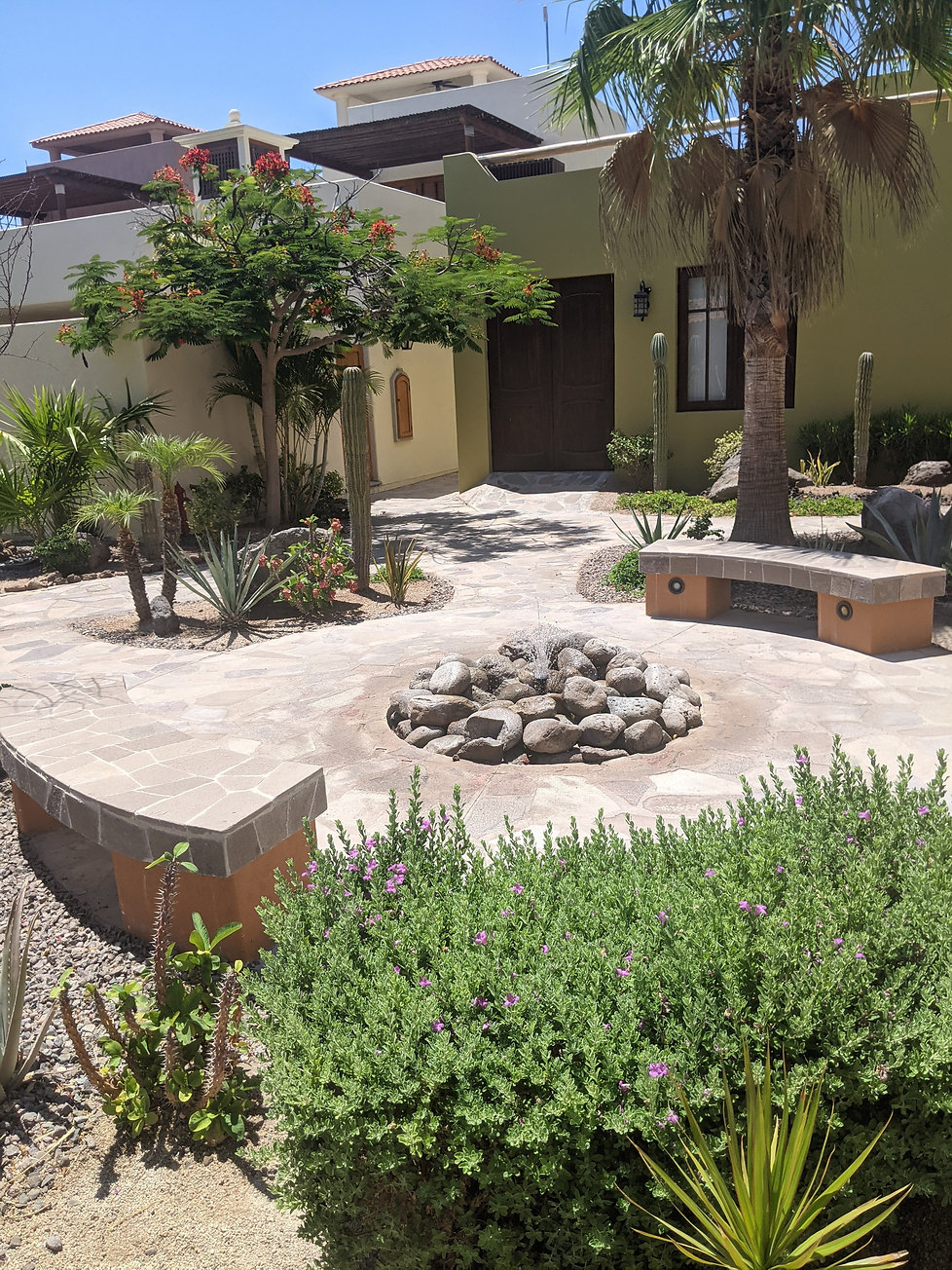 fountains, water features, loreto bay