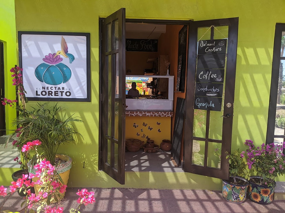 Nectar Loreto, Loreto Bay, Nopolo, restaurant