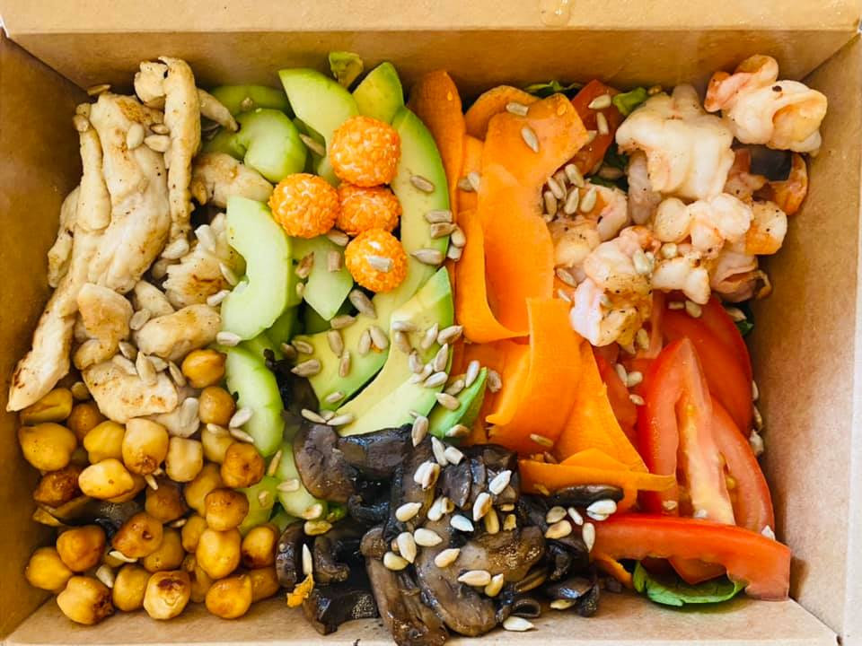 Baja Salads + Bowls, Restaurants Loreto Bay, Menu, pictures, nopolo