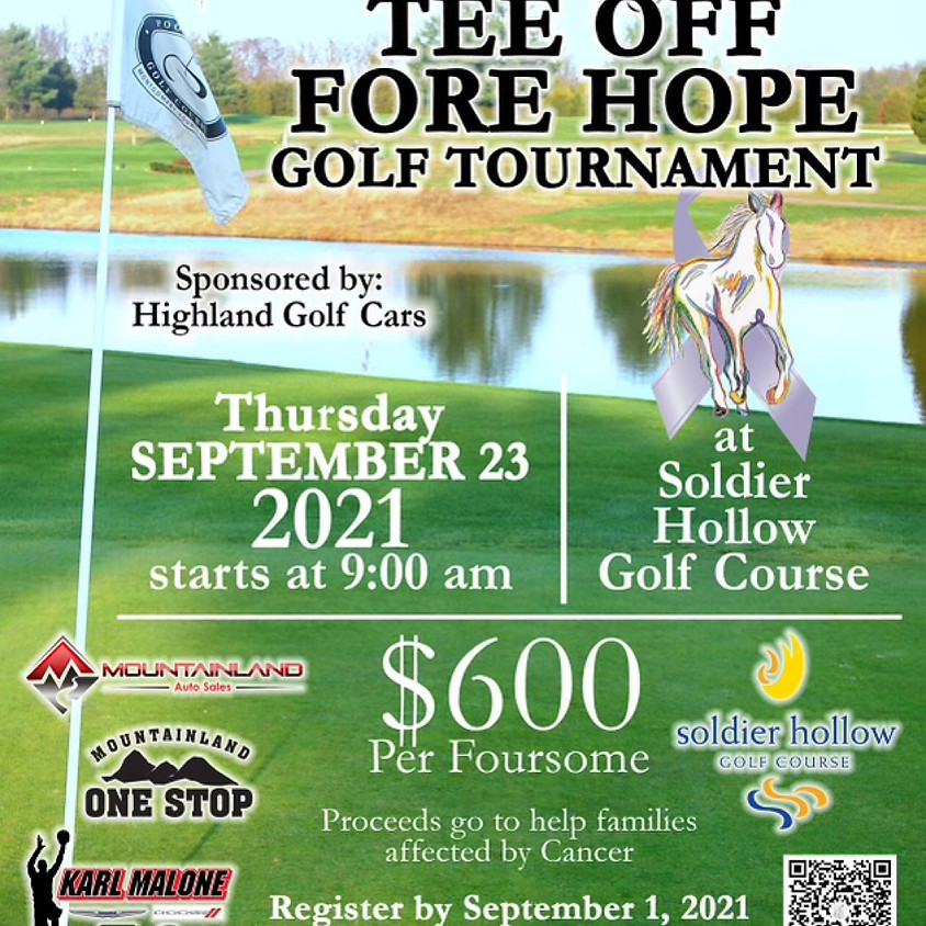 TEE OFF FOR HOPE